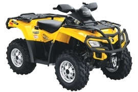 CAN-AM/ BRP Outlander 500 XT (2009 - 2010)