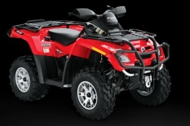 CAN-AM/ BRP Outlander 500 XT EFI (2008 - 2009)