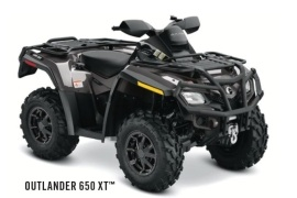 CAN-AM/ BRP Outlander 650 (2011 - 2012)
