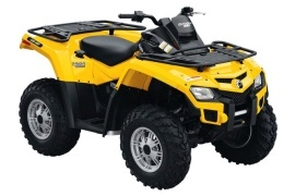 CAN-AM/ BRP Outlander 650 EFI (2009 - 2010)