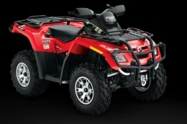 CAN-AM/ BRP Outlander 650 EFI XT (2008 - 2009)
