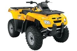 CAN-AM/ BRP Outlander 650 HO EFI (2005 - 2007)
