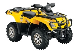 CAN-AM/ BRP Outlander 650 HO EFI XT (2006 - 2007)