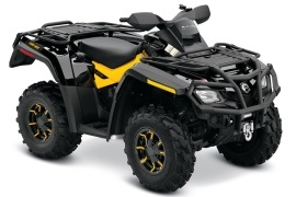 CAN-AM/ BRP Outlander 650 XT (2009 - 2010)