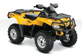 CAN-AM/ BRP Outlander 650 XT (2010 - 2011)