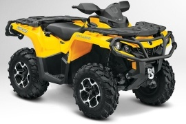 CAN-AM/ BRP Outlander 650 XT (2012 - 2013)