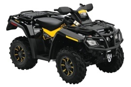 CAN-AM/ BRP Outlander 650 XT-P (2009 - 2010)