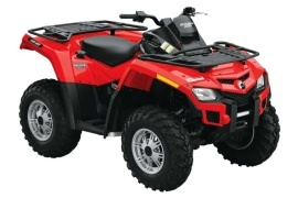 CAN-AM/ BRP Outlander 800R (2009 - 2010)