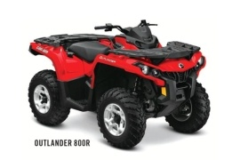 CAN-AM/ BRP Outlander 800R (2011 - 2012)