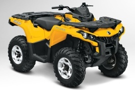 CAN-AM/ BRP Outlander 800R DPS (2012 - 2013)