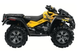 CAN-AM/ BRP Outlander 800R X mr (2011 - 2012)