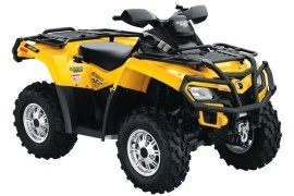 CAN-AM/ BRP Outlander 800R XT (2009 - 2010)