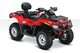 CAN-AM/ BRP Outlander MAX 800R XT (2010 - 2011)