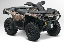 CAN-AM/ BRP Outlander 800R XT (2012 - 2013)
