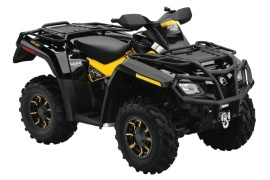 CAN-AM/ BRP Outlander 800R XT-P (2009 - 2010)