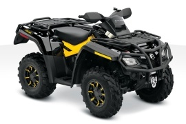CAN-AM/ BRP Outlander 800R XT-P (2010 - 2011)