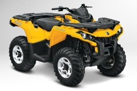 CAN-AM/ BRP Outlander DPS 650 (2012 - 2013)