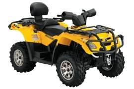 CAN-AM/ BRP Outlander MAX 400 HO XT (2007 - 2008)