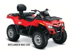 CAN-AM/ BRP Outlander MAX 500 (2011 - 2012)