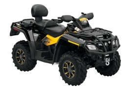 CAN-AM/ BRP Outlander MAX 500 XT-P (2009 - 2010)