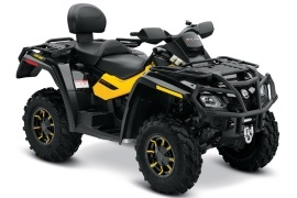 CAN-AM/ BRP Outlander MAX 650 XT-P (2009 - 2010)