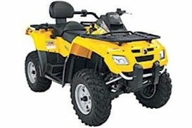 CAN-AM/ BRP Outlander MAX 800 HO EFI  (2006 - 2007)