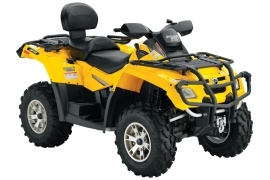 CAN-AM/ BRP Outlander MAX 800 HO EFI XT (2007 - 2008)