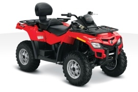 CAN-AM/ BRP Outlander MAX 800R (2010 - 2011)