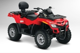 CAN-AM/ BRP Outlander MAX 800R (2011 - 2012)