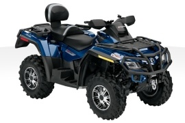 CAN-AM/ BRP Outlander MAX 800R Limited (2010 - 2011)