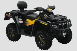 CAN-AM/ BRP Outlander MAX 800R XT-P (2009 - 2010)