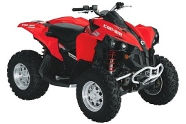 CAN-AM/ BRP Renegade 800R EFI (2009 - 2010)