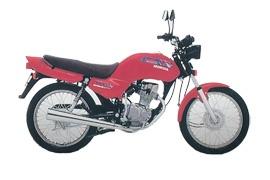 HONDA CG 125 specs - 1976, 1977, 1978, 1979, 1980, 1981