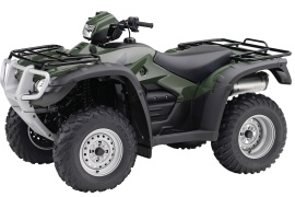 HONDA FourTrax Foreman 4X4 ES with Power Steering TRX500FPE (2010 - 2011)