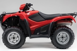HONDA FourTrax Foreman 4X4 ES with Power Steering TRX500FPE (2011 - 2012)