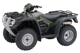 HONDA FourTrax Foreman 4X4 with Power Steering TRX500FPM  (2010 - 2011)