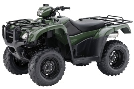 HONDA FourTrax Foreman 4x4 With Electric Power Steering TRX500FPM (2012 - 2013)