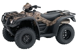 HONDA FourTrax Foreman Rubicon with EPS and GPS TRX500FGA (2010 - 2011)