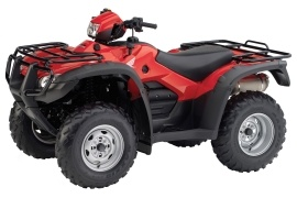 HONDA FourTrax Foreman Rubicon with Electric Power Steering TRX500FPA (3000 - 2013)
