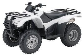 HONDA FourTrax Rancher 4X4 ES with Power Steering TRX420FPE (2008 - 2009)