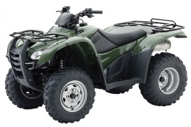 HONDA FourTrax Rancher 4X4 ES with Power Steering TRX420FPE (2009 - 2010)