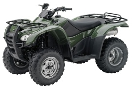 HONDA FourTrax Rancher 4X4 ES with Power Steering TRX420FPE (2010 - 2011)