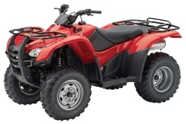 HONDA FourTrax Rancher 4X4 with Power Steering TRX420FPM (2010 - 2011)