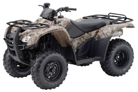 HONDA FourTrax Rancher 4X4 with Power Steering TRX420FPM (2011 - 2012)