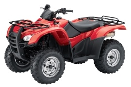 HONDA FourTrax Rancher AT with Power Steering TRX420FPA (2012 - 2013)
