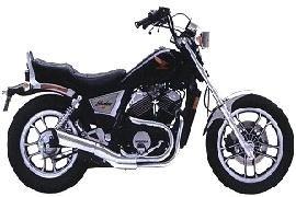 HONDA VT 500 C Shadow 1983 - 1987