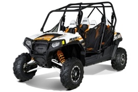 POLARIS RZR 4 800 EPS Robby Gordon Edition LE (2011 - 2012)