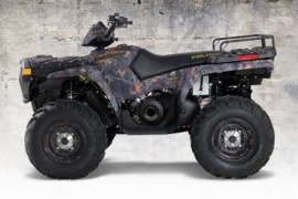 POLARIS SPORTSMAN 500 HO BROWNING EDITION (2006 - Present)
