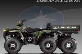 POLARIS Sportsman 800 EFI 6x6 Big Boss (2008 - 2009)