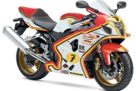 SUZUKI GSX-R 750 Barry Sheene Replica (2005)